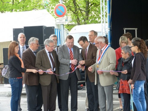 foire commerciale,ucia,vouziers,inauguration