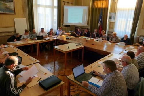 conseil municipal,budget,vouziers