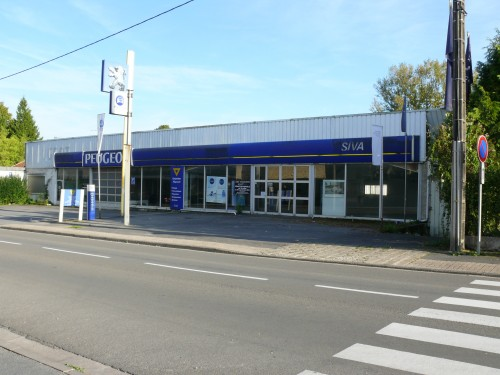 peugeot,garage,fermeture,concession