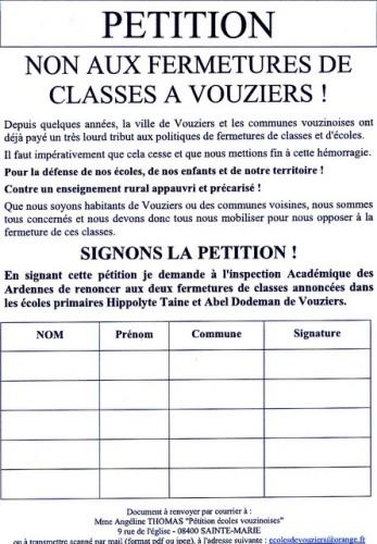 école publique,fermeture de classe