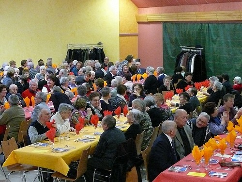 repas des anciens,vouziers,retus